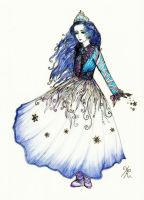 Snow Queen by La-Chapeliere-Folle