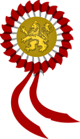 Czech revolutionary cockade by SoaringAven