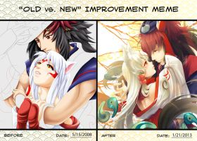 Old Vs  New Improvement Meme By Asteroidz-d382gj6 by kotorikurama