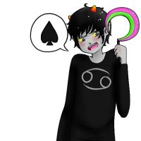 day 2: KARKAT by singingcatartist12