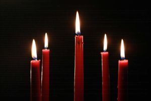 Red Candle Stock by PzychoStock