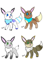 Eevee Adopts! .:CLOSED:. by QualiT-Adopts