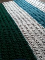 Crochet X-stitch Blanket by FreneticFox