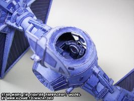 papercraft Star Wars TIE-fighter interior 2 by ninjatoespapercraft