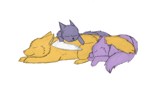 Nap Time by DappleFeather