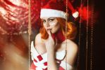 Christmas Lina - Dota 2 cosplay by LuckyStrike-cosplay