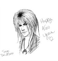 Happy New Years-Jareth by demonsaya