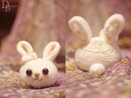 Crochet Bunny by DeniseBunye