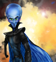 Megamind by AmmyWolf95