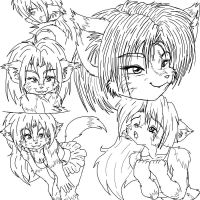 Many faces of Kilika by SkiddDog