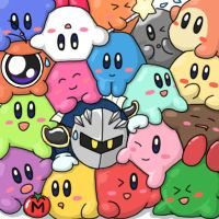 Kirby Mass Attack? by Sirometa