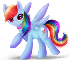 RQ: Rainbow Dash! by AmnesiousSiren
