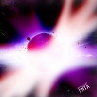 Planet explosion by FRYK-Official