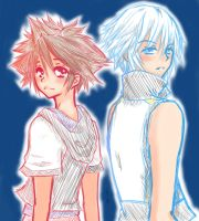 Sora and Riku by RyoutaTachibana
