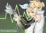 Rin y Len kagamine by pily-sweet-angel