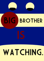 Big Brother IS watching by Revolution689