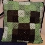 Creeper pillow by Onlera