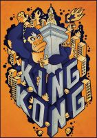 King Kong by andreasardy