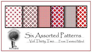 Twisted Mind Assorted Pattern Set 32 by Textures-and-More