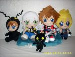 Kingdom Hearts Plush Collection 2012 by kratosisy