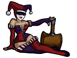 Harley and Hammer by Pie-Hot