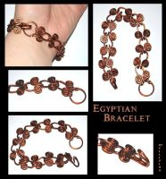 Egyptian Bracelet by Marchia