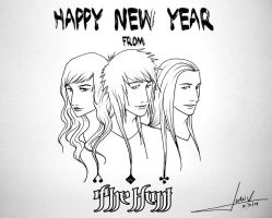 Happy New Year From The Hunt by JuanX