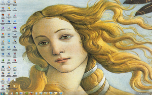 The Birth of Venus Win 7 Theme by Windowsthememanager