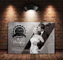 Wedding Invitation  Postcard by Designhub719
