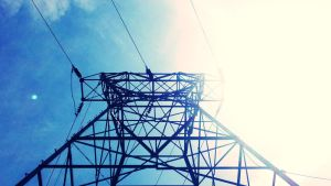 Electrical Tower by brickwallsam