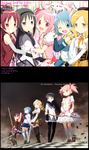 Madoka Magica - Journal Skin by drawwithme15