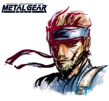 Solid Snake by Dian3