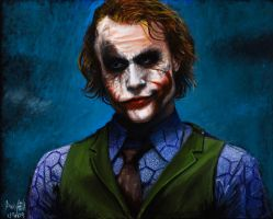 Heath's Joker by MadTeaCup