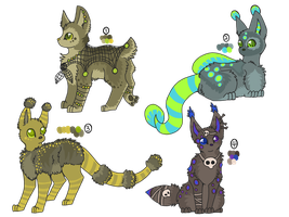 Designs for Auction by ForestGlade
