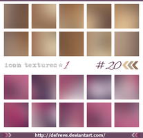 20 Icon Textures by Defreve