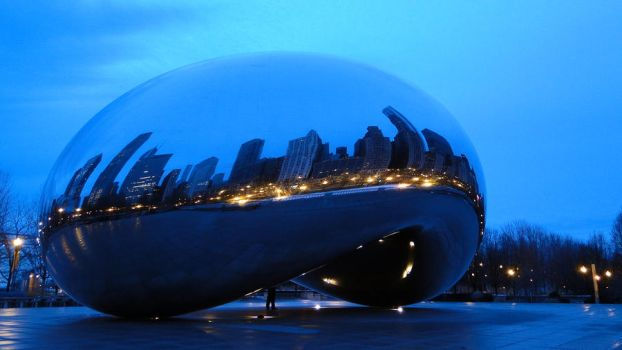 Cloud Gate, Chicago. (5) by aliohali