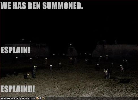 WE HAS BEN SUMMONED by Cats-Eye-93