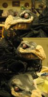 Skeksis Doll 2 head shots by DemonicNeko
