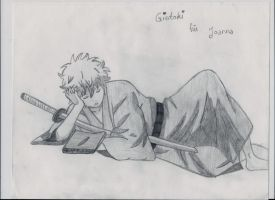 Gintoki as child from Gintama by IviiLikePink