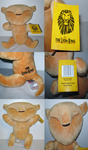 ( Lion King ) Posable Baby Simba Musical Plushie by KrazyKari