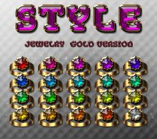 styles jewelry gold version by sonarpos