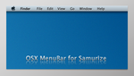 OSX MenuBar for Samurize by AndreTM