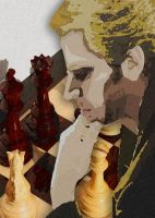Lonely Chessmaster by MollyD