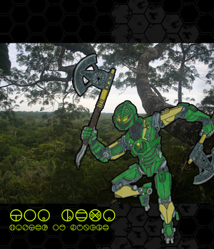 Lewa master of Jungle by Shockwave999