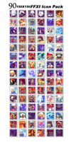 FFXI 10th Anniversary Icon Pack by Misi by misi