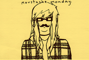 moustache monday by repent--harlequin
