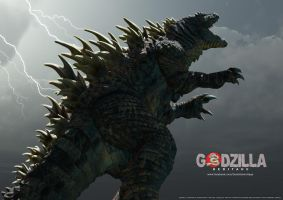 Godzilla: Heritage Concept Art 1 by LDN-RDNT
