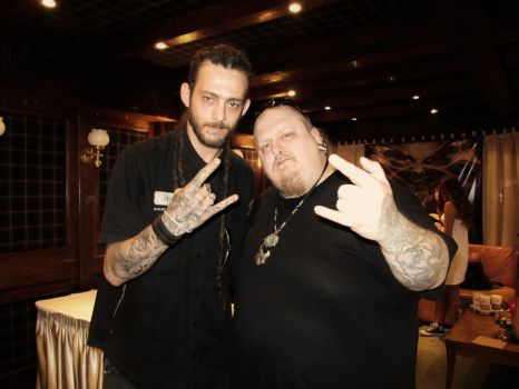 Daniel Toledo and Paul Booth by toledotattoo