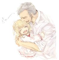 Lestrade and his daughter...? by m0bilis