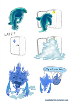 Morphling is Ancient Apparition by GoodBadArtist